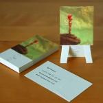 Sergi / Ressam için Kartvizit